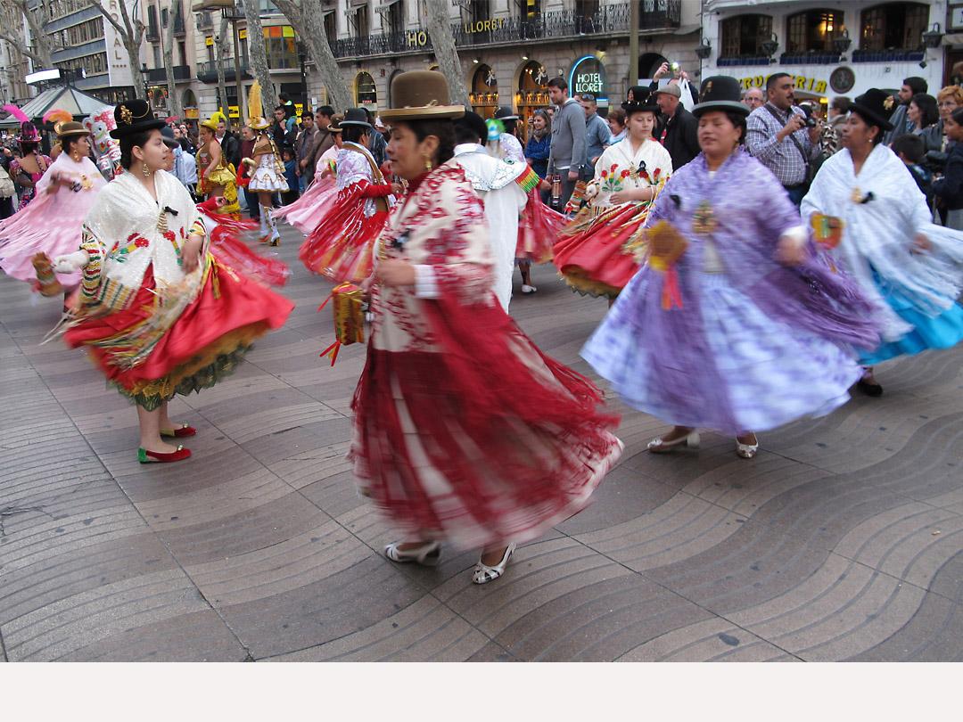 Ecuadoran woman, Barcelona