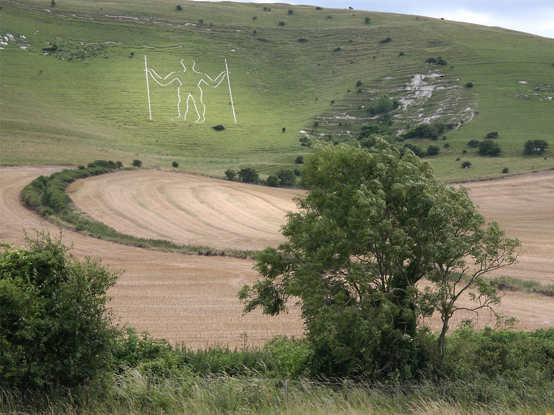 The Long Man of Wilmington, Sussex