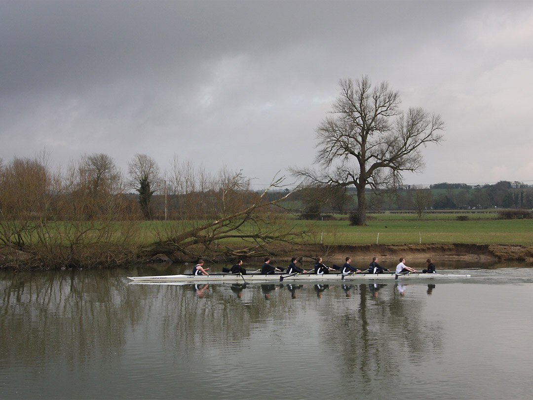 Rowing eight, Oxfordshire