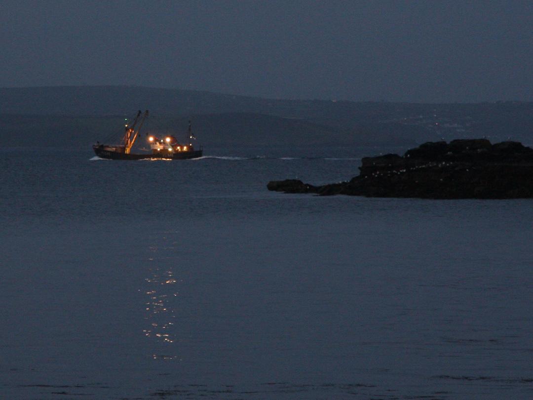 Newlyn trawler, Cornwall