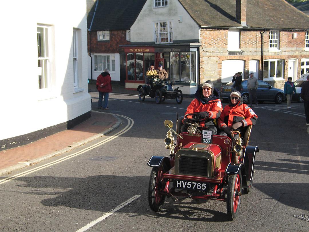 Veteran car rally, Sussex