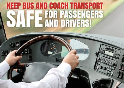 Keep coach transport safe