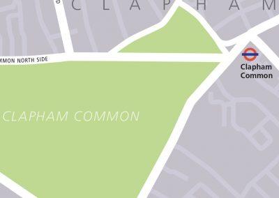 Clapham walk